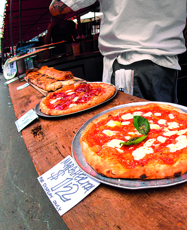 La pizza: anche come