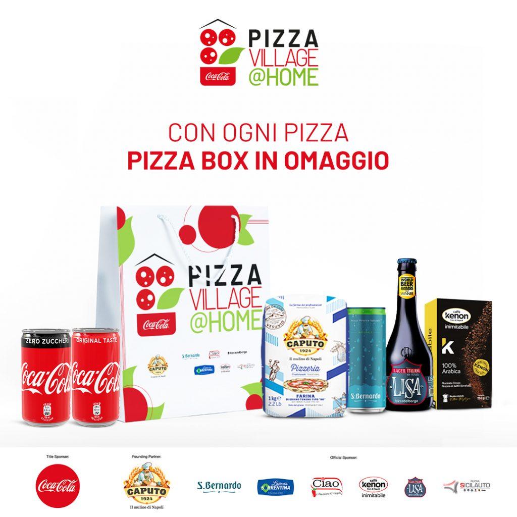 Box Coca-Cola PizzaVillage