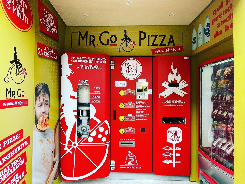 distributore automatico pizza roma