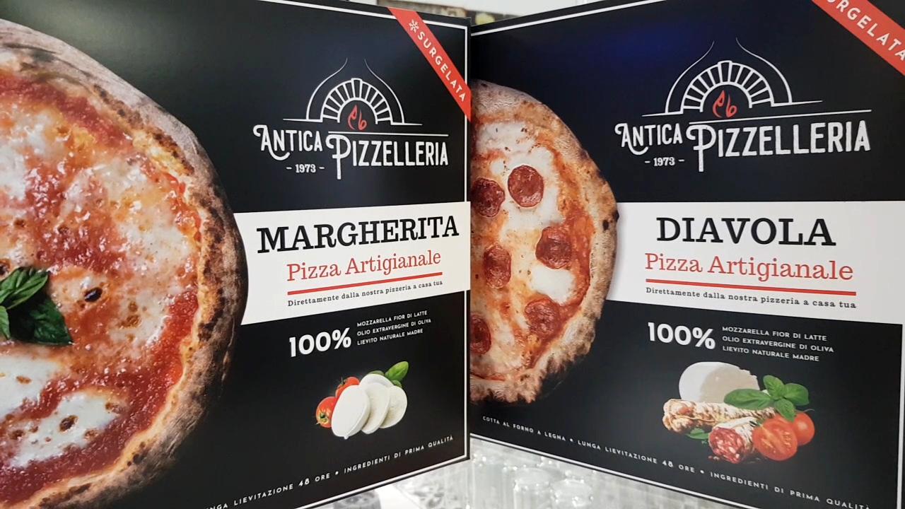 pizza surgelata artigianale